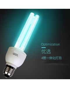 Ultraviolet UVC 254nm bulb definition for air sterilization E27 Base